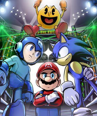Mario/Sonic/Mega Man/Pac-Man x Reader: Who to choose? | SSBU x