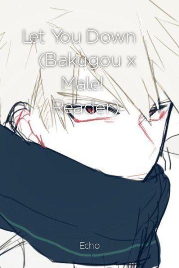 Let You Down (Bakugou x Male! Reader)