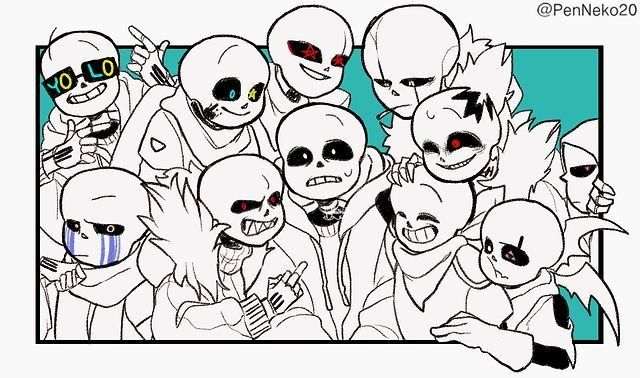 Sans and papyrus aus x reader oneshot