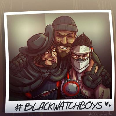 Comfort (Blackwatch Genji and McCree x emotional support