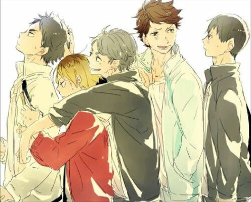 HAIKYUU AU Setters X Reader: To All The Boys I've Loved Before
