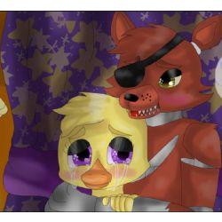 Chapter 2 | Blinded by love (Foxy x Chica) (rewrite of fnaf