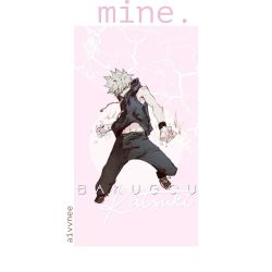 mine  [Yandere!Bakugou x Reader]