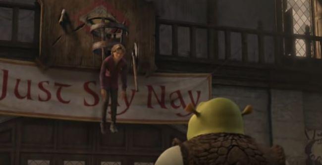 The Third Ch 4 Falling Arthur X F Reader Shrek