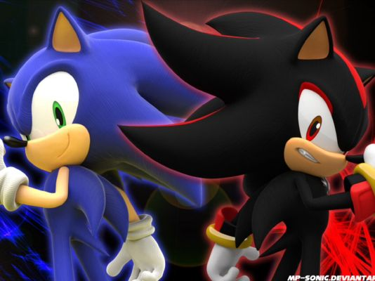 Sonic Then Shadow Shadow X Sonic X Reader