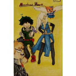 The Midoriya's Dragon Guest | Monstrous Hero- My Hero