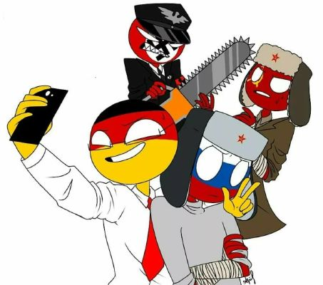 From Another World Countryhumans X Reader