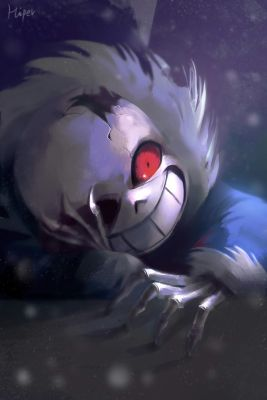 Horror Sans x Kind Reader | AU Sanses x Reader Oneshots