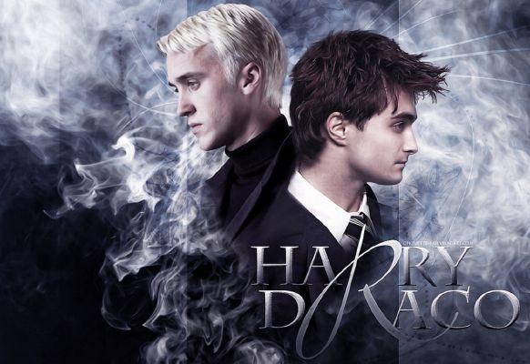 Veela!Draco x Harry