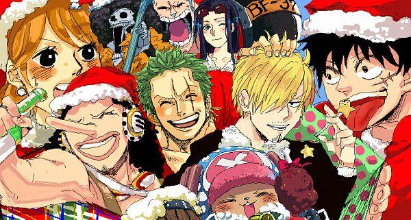Christmas Special!~ | He Needs a Pirate Queen (Luffy x Reader)