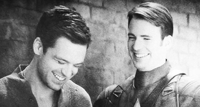 Bucky and Steve - Get Your Butt To Class | Avengers Imagines