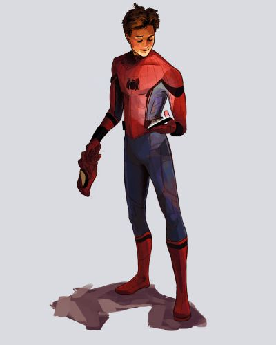 Seeing Red and Blue ( Peter Parker )