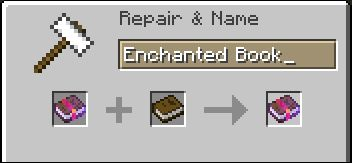 Separating Enchantments From A Mass Enchantment Books Name Tag Recipe Suggestions Minecraft Java Edition Minecraft Forum Minecraft Forum