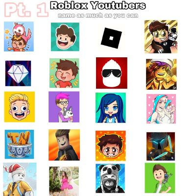 Roblox Youtuber Comp