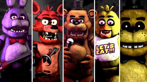 You character loves which fnaf Which NIGHTMARE