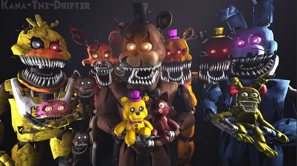 Which fnaf character loves you