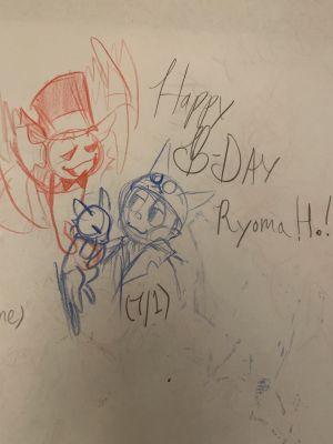 Happy Birthday Ryoma Hoshi D Art That Literally No One Asked For See more fan art related to #dangan ronpa , #kirumi tojo , #tenko chabashira , #kokichi ouma , #shuuichi saihara , #kaito momota , #birthday. happy birthday ryoma hoshi d art