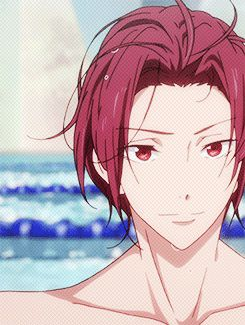 Beach Rivalry Rin Matsuoka X Reader Happily Ever After Reader Inserts He is a freestyle and butterfly swimmer for the samezuka academy swim team and is made team captain after seijuro. beach rivalry rin matsuoka x reader